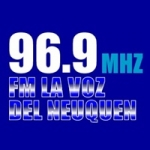 Logo da emissora Radio La Voz del Neuquen 96.9 FM