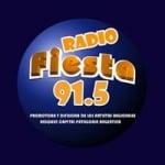Logo da emissora Radio Fiesta 91.5 FM