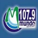 Logo da emissora Radio Mundo 107.9 FM