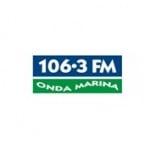 Logo da emissora Radio Onda Marina 106.3 FM