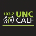 Logo da emissora Radio Universidad Calf 103.7 FM