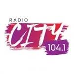 Logo da emissora Radio City 104.1 FM