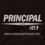 Logo da emissora Radio Principal 107.9 FM