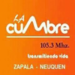 Logo da emissora Radio La Cumbre 105.3 FM