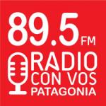 Logo da emissora Radio Con Vos Patagonia 89.5 FM