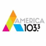 Logo da emissora Radio America 103.3 FM
