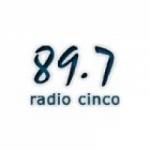 Logo da emissora Radio Cinco 89.7 FM