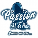 Logo da emissora Radio Passion 91.5 FM