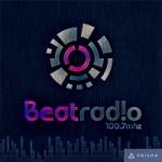 Logo da emissora Beat Radio 100.7 FM