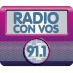 Logo da emissora Radio Con Vos 91.1 FM