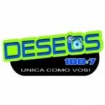 Logo da emissora Radio Deseos 100.7 FM