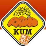 Logo da emissora Radio Kum 98.1 FM