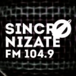 Logo da emissora Radio Sincronizate 104.9 FM