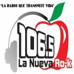 Logo da emissora Radio La Nueva Ro-k 106.5 FM