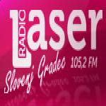 Logo da emissora Radio Laser 105.2 FM