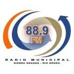 Logo da emissora Radio Municipal 88.9 FM