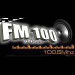 Logo da emissora Radio La 100 100.5 FM