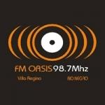 Logo da emissora Radio Oasis 98.7 FM