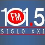 Logo da emissora Radio Siglo XXI 101.5 FM