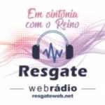 Logo da emissora Resgate Webrádio