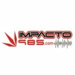Logo da emissora Radio Impacto 98.5 FM