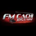 Logo da emissora Radio Cachi 105.5 FM