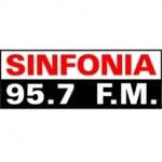 Logo da emissora Radio Sinfonia 95.7 FM