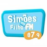 Logo da emissora Rádio Simões Filho 87.9 FM