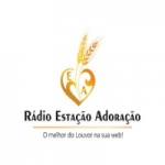 Logo da emissora Rádio Estação Adoração