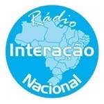 Logo da emissora Rádio Interação Nacional FM