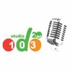 Logo da emissora Radio Studio D 103.0 FM