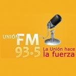 Logo da emissora Radio Union 93.5 FM