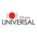 Logo da emissora Radio Universal 970 AM