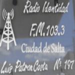 Logo da emissora Radio Identidad 103.3 FM