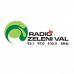 Logo da emissora Radio Zeleni Val 93.1 FM