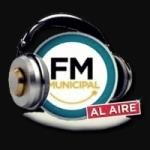 Logo da emissora Radio Municipal 101.3 FM