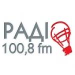 Logo da emissora Lviv Wave 100.8 FM