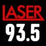 Logo da emissora Radio Laser 93.5 FM