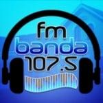 Logo da emissora Radio Banda 107.5 FM