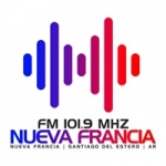 Logo da emissora Radio Nueva Francia 101.9 FM