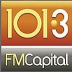 Logo da emissora Radio Capital 101.3 FM