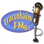 Logo da emissora Rádio Tracuhnaém 98.5 FM