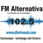 Logo da emissora Radio Alternativa 102.5 FM