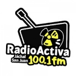 Logo da emissora Radio Activa 100.1 FM