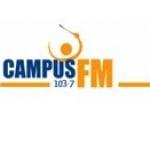 Logo da emissora Campus 103.7 FM