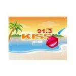 Logo da emissora Kiss 91.3 FM