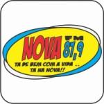 Logo da emissora Rádio Nova FM 87.9