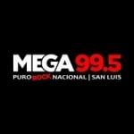 Logo da emissora Radio Mega 99.5 FM
