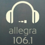 Logo da emissora Radio Allegra 106.1 FM