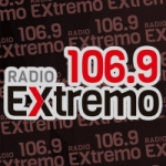 Logo da emissora Radio Extremo 106.9 FM